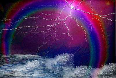 Photograph - From Out Of The Storm Comes The Rainbow by Ericamaxine Price