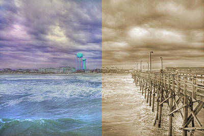 Topsail Island Photograph - From Past To Present by Betsy Knapp