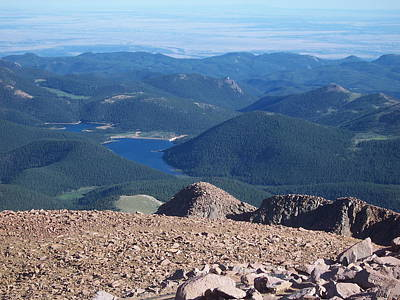 Photograph - From Pike's Peak by Sheila Byers