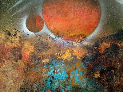 Painting - From Planet's View by Gerry Smith