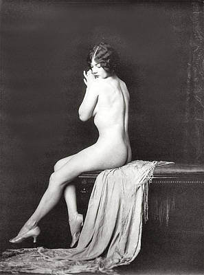 Nudes Digital Art - From Risque Postcard Collection 10 by Studio Photographer