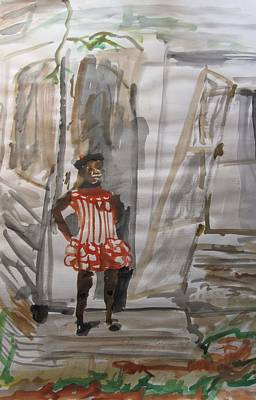 From Slavery To Penury Art Print by Esther Newman-Cohen