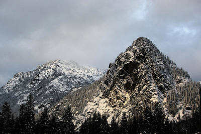 Photograph - From Snoqualmie Pass by Edward Hawkins II