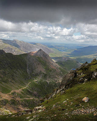 Photograph - From Snowdon's Summit by Ed Pettitt