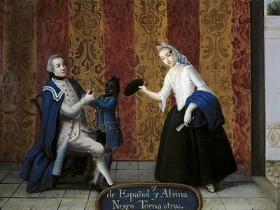 From Spanish And Albina Negro Torna Print by Everett