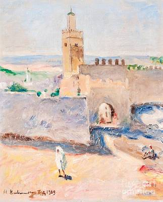 Tangier Painting - From Tangier by Celestial Images