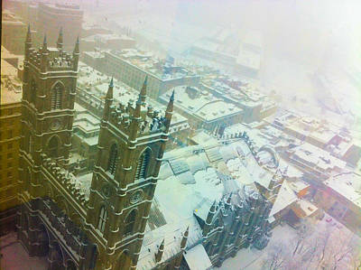 Old Montreal Photograph - From The 24th Floor by Valerie Rosen