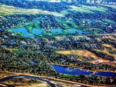 Photograph - From The Air 2 by Dawn Eshelman