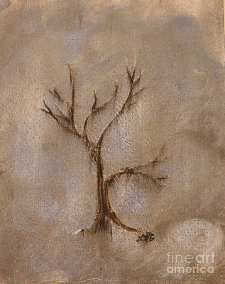 The Trees Mixed Media - From The Ashes by Lelan Gimnick
