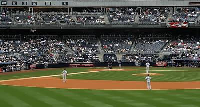 Yankee Stadium Bleachers Digital Art - From The Bleacher Creatures by John Delong