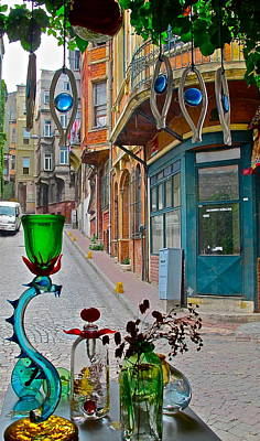 From The Glass-maker's Window Art Print by Ayse Taskiran