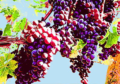 Wine Corks - From the grape comes the wine by CHAZ Daugherty