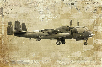 Plane Painting - From The Grave Yard by Ramona Murdock