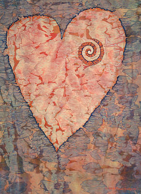 Painting - From The Heart by Lynda Hoffman-Snodgrass