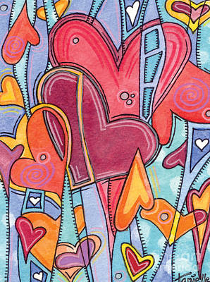 Painting - From The Heart by Tanielle Childers