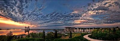 Photograph - From The Hill Panorama by Jeff S PhotoArt