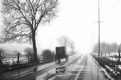 Amish Photograph - From The Light by David Arment