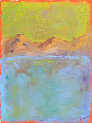 Painting - From The Mountains To The Sea by Paulette B Wright