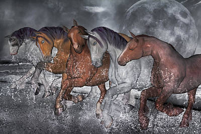 Herding Digital Art - From The Sea by Betsy Knapp