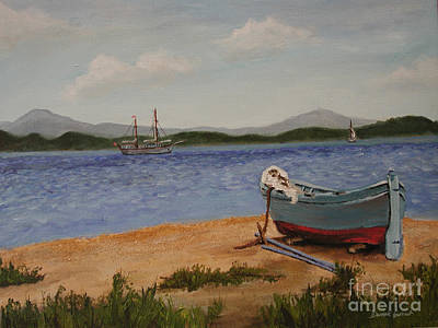 Painting - From The Shore by Dwayne Glapion
