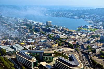 Photograph - From The Space Needle 1 by Ricardo J Ruiz de Porras