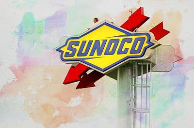 Photograph - From The Sunoco Roost by Alice Gipson