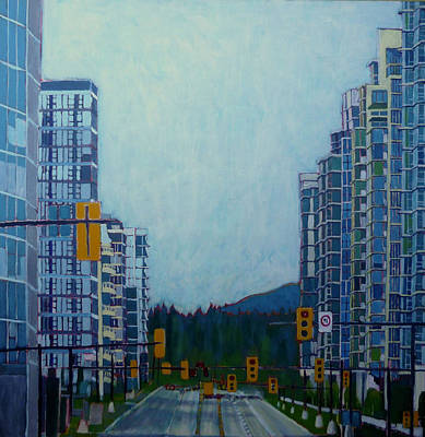From Vancouver To The Mountains Original by Sandrine Pelissier