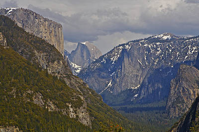 Photograph - from Wawona Tunnel by SC Heffner