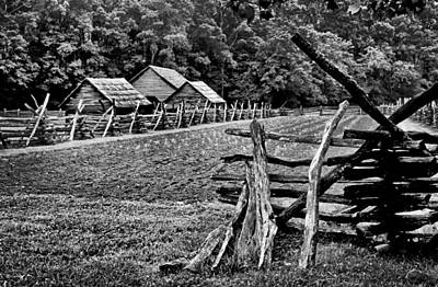 Split Rail Fence Photograph - From Years Past by Paul W Faust -  Impressions of Light
