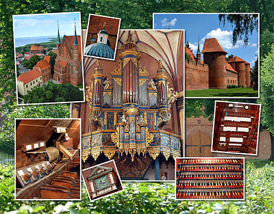 Photograph - Frombork Montage by Jenny Setchell