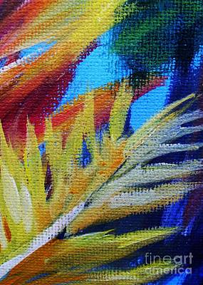 Bright Colors Painting - Fronds by John Clark