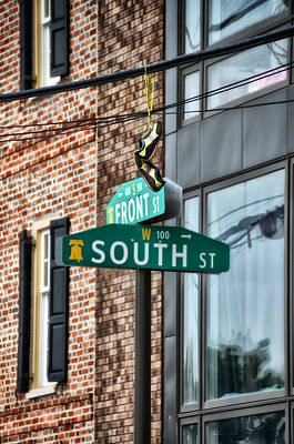 Front And South Streets Art Print by Bill Cannon