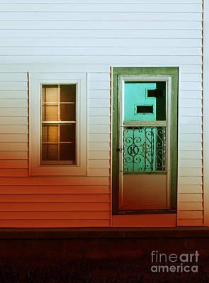 Front Door Of Old House Art Print by Jill Battaglia