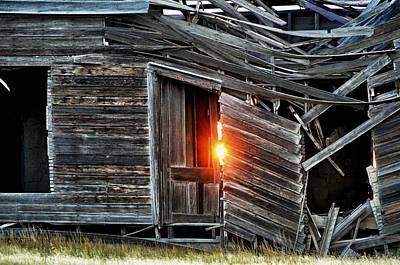 Photograph - Front Door Sun by Clarice  Lakota