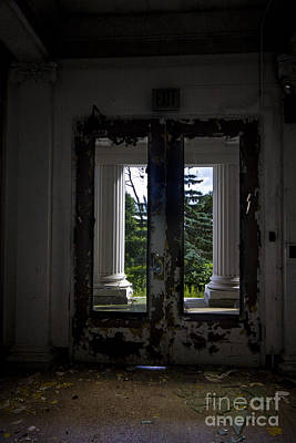 Hospital Photograph - Front Doors by Mark Baker