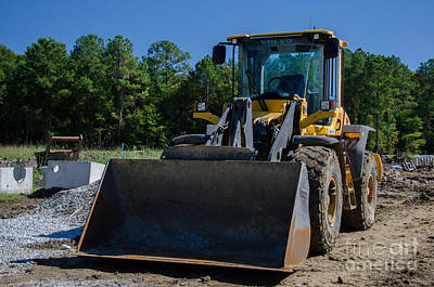 Photograph - Front End Loader by Dale Powell