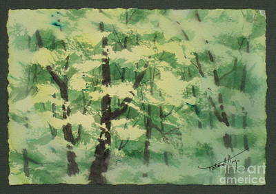 Bales Painting - Front Lit Jungle by Mohamed Hirji