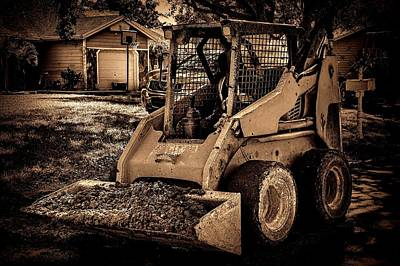 Photograph - Front Loader-4 by Rudy Umans