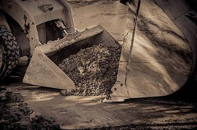 Photograph - Front Loader Buckets by Rudy Umans