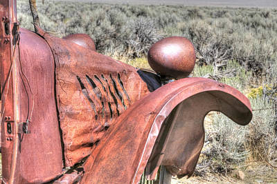 Photograph - Forgotten And Rusty by Susan Leonard