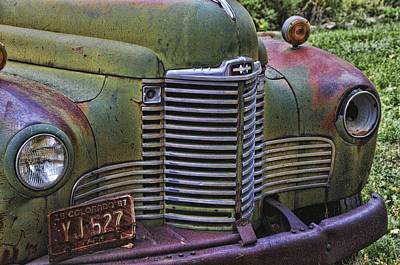 Robert Walker Photograph - Front Of Truck by Robert Walker