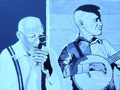 Painting - Front Porch Blues by Otis L Stanley
