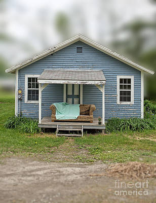 Front Porch Comfort Art Print by Edward Fielding