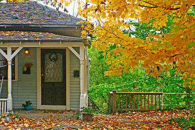 Photograph - Front Porch by Jon Emery