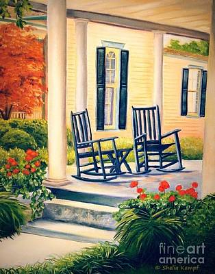 Painting - Front Porch by Shelia Kempf