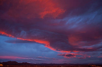 Photograph - Front Range At Dusk  by Eric Rundle