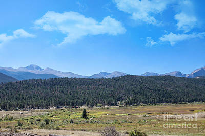 Photograph - Front Range Rockies by Kay Pickens