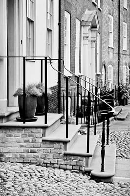 Front Steps Art Print by Tom Gowanlock