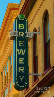 Photograph - Front Street Brewery by Bob Sample