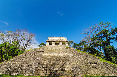 Classic Golf - Front View of Mayan Temple by Jess Kraft